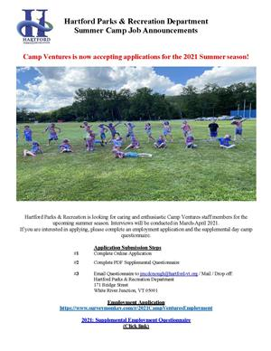 Camp Ventures Job Opportunities
