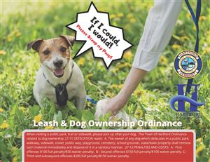 Leash & Dog Ownership Ordinance