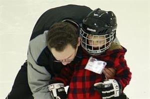 Ice Skating Lesson